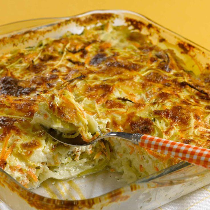 Découvrez la recette Lasagnes de légumes sur cuisineactuelle.fr.