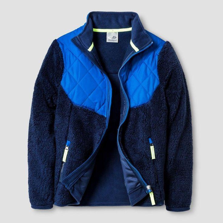 C9 Champion Modern Textured Fleece Jacket Bl