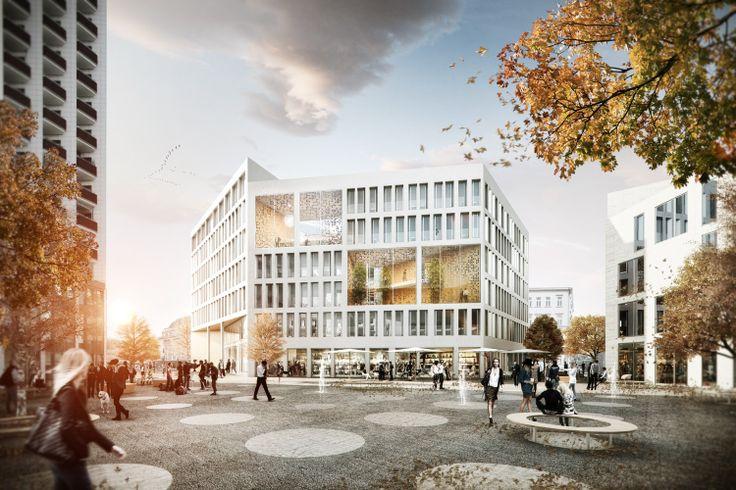 blauraum: Architektur Architectural visualization by Rendertaxi