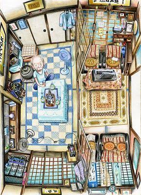 1000 id es sur le th me perspective sur pinterest perspective point de fuite unique dessins. Black Bedroom Furniture Sets. Home Design Ideas