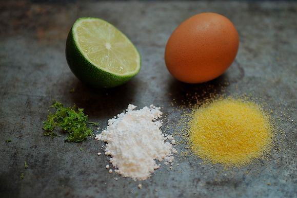 Lime Cornmeal Biscotti   Recipe
