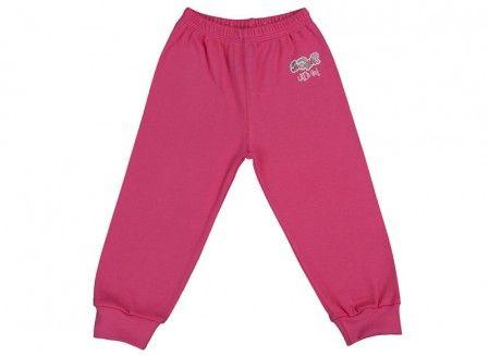 Pantalonaşi cu elastic în talie roz fucsia 100% bumbac | Cod produs: NIG118