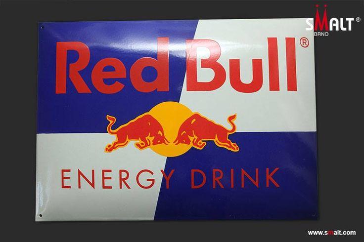 Red Bull - porcelain enamel sign