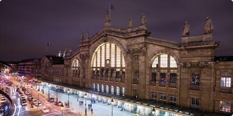 Prenez le train de la gare du nord au Musée d'Orsay.