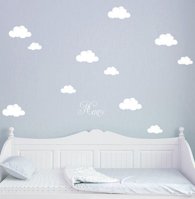 Wandtattoo Wolken Wolke Wölkchen mit Namen M1682