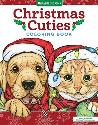 Christmas Cuties Coloring Book by Jenny Newland https://www.amazon.com/dp/1497202280/ref=cm_sw_r_pi_dp_x_3VekzbFN1AXQ9