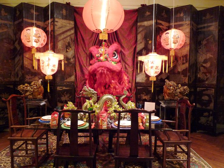 Interior Stunning Chinese New Year Party Home Decoration With Head Chinese Dragon And Red Chinese Pendant Light Fascinating Chinese New Ye