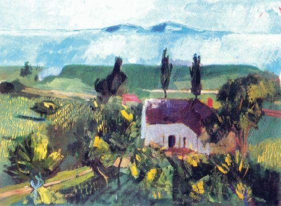 Bernáth, Aurél (1895-1982) - Kisőrs, landscape, 1940