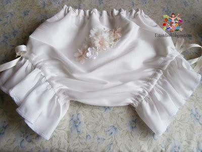 Como hacer una panty de niña ~ Entretelas