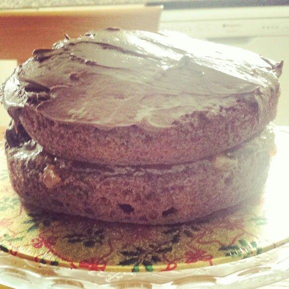 Birthday cake by my husband  #wscrafting @whitestuff