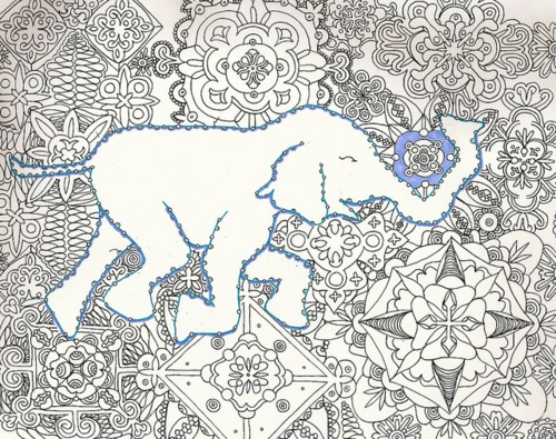 Dreaming Elephant by my girl Foudy