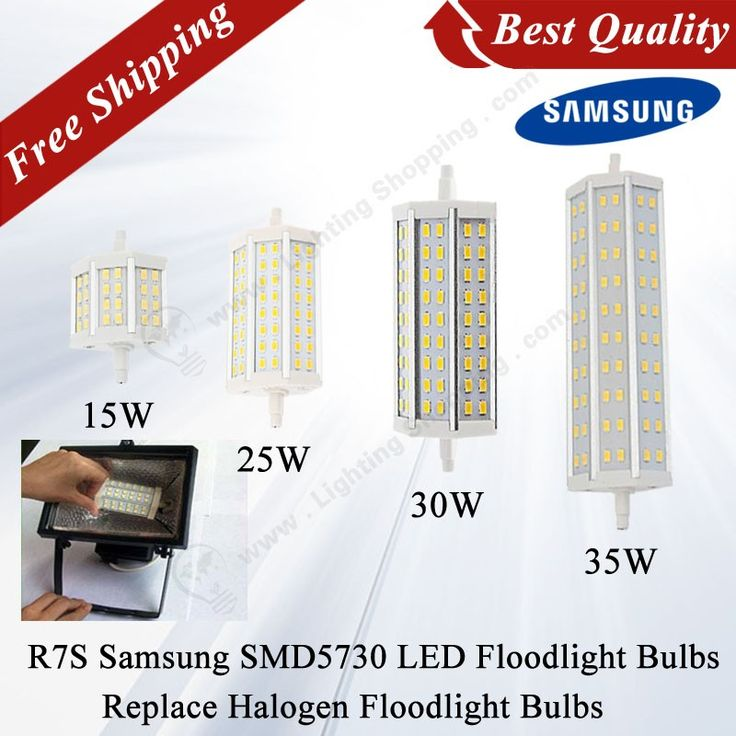Best LED Floodlight Bulb, R7S, Samsung SMD5730, 110V- 240V, Replace Traditional Halogen Floodlight Bulbs - See more at: http://www.lightingshopping.com/best-led-floodlight-bulb-r7s-samsung-smd5730-110v-240v.html