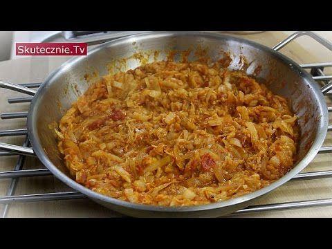 Zasmażana kapusta pekińska w pomidorach :: Skutecznie.Tv [HD]