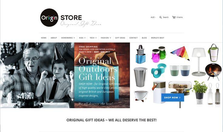 OriiginStore – ORIGINAL OUTDOORS GIFT IDEAS – WE ALL DESERVE THE BEST!