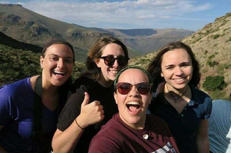 Our environmental journalism and travel writing interns hiked the mountains of the Karoo today on a mission to find bushman paintings.