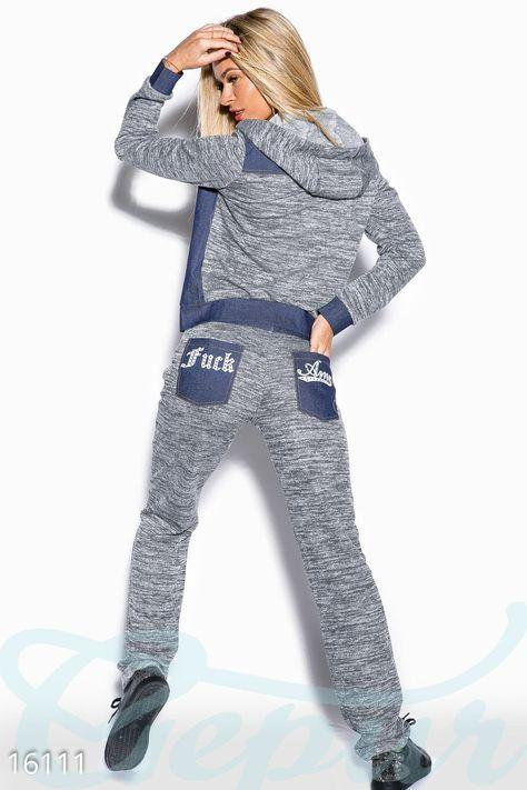 Gepur   Стильный повседневный костюм арт. 16111 Цена от производителя, достоверные описание, отзывы, фото