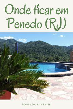 Uma pousada tranquila, silenciosa, e com uma piscina que tem uma vista incrível para a serra!