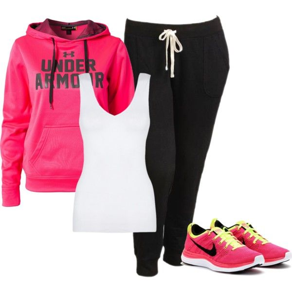 U0026quot;Gym day!u0026quot; by alqoronzahlaam on Polyvore | What I Do ... RUN! | Pinterest | Who am i Wardrobes ...