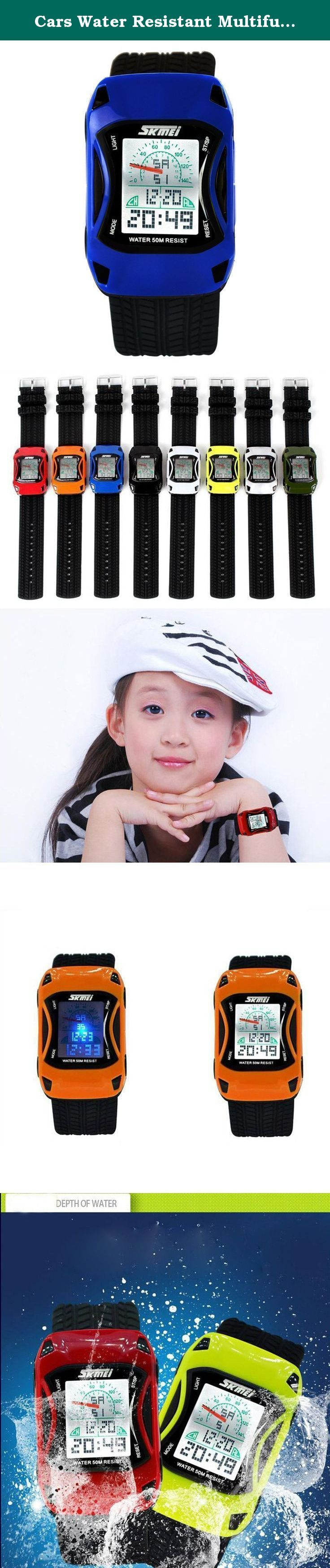 Cars Water Resistant Multifunction Climbing Dive LCD Digital Watches Child's Wristwatch- Blue. A variety of styles you can choose in our store ! Package Included: 1 x Watch Please Note: 1. Actual color may vary from picture due to computer settings. 2. Find store front of Sunny world, more surprises are waiting for you! Dear Buyer, Thanks for your continuous support to our store, and we are always striving to improve ourselves in terms of service, quality, sourcing, etc. It would be…