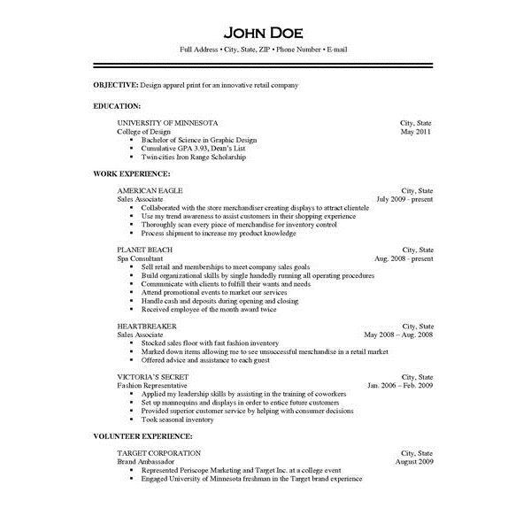 Job Descriptions Resume Examples Pinterest Resume examples and