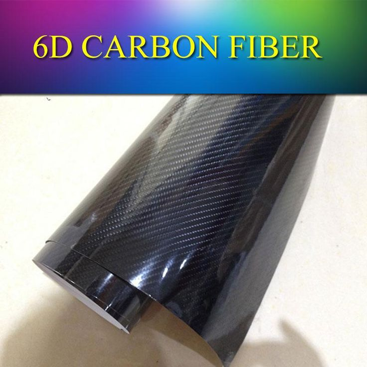 1.52x20m 5x65ft Black Premium Glossy 4D Carbon Fiber High Gloss Glossy 5D/6D Carbon Fiber Vinyl Wrap Film Sticker Air Release Online with $292.15/Meter on Sallyyang0301's Store   DHgate.com