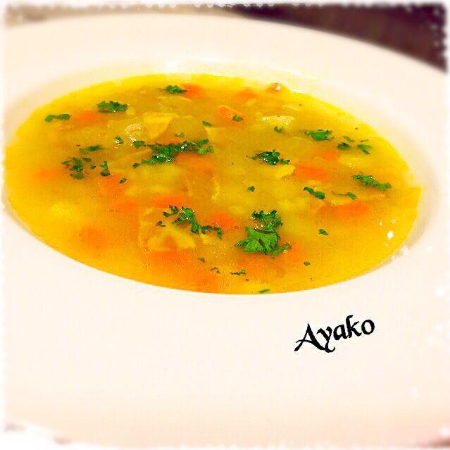 話題のスコットランドの料理。 「マッサン」のエリーが作っていたスープをカレー風味にしてみました(*^^*) - 111件のもぐもぐ - カレー風味のスコッチブロス by ayako1015