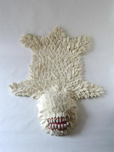 Monster Skin Rug by Joshua Ben Longo at Longoland. F.A.N.T.A.S.T.I.C.Crafts Ideas, Joshua Ben, Monsters Skin, Crafty, Bears, Skin Rugs, Kids, Monsters Rugs, Design