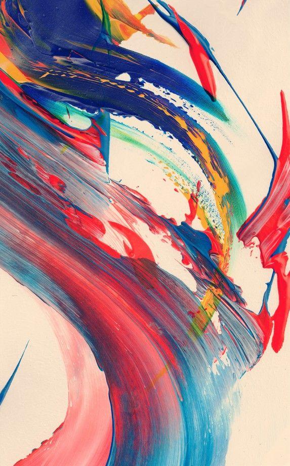 Des abstractions à coups de pinceaux coup pinceau abstrait 06 573x920