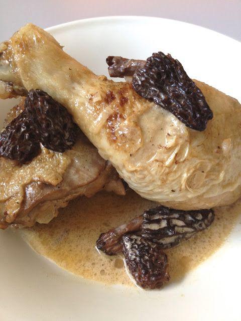 La Cuisine c'est simple: Simple comme un poulet fermier aux morilles et au Vin…