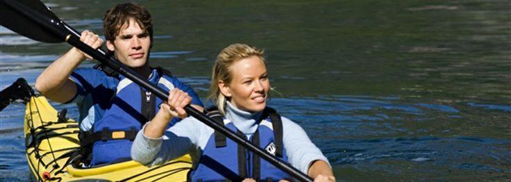 Kayaking the Norwegian Fjords.
