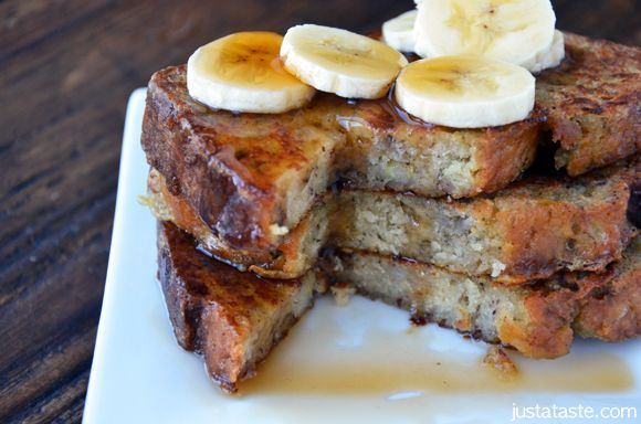 Banana Bread French Toast - This takes banana bread to a whole new ...