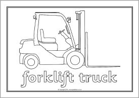 cardinal coloring pages preschool truck - photo#12