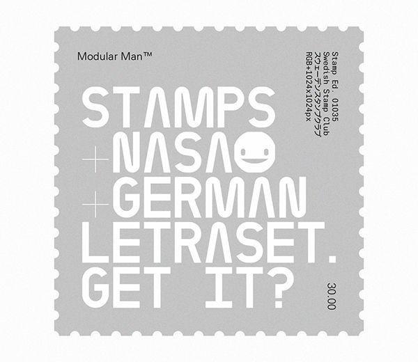 Swedish Stamp Club / The Modular Man / 01035 / Stamp / 2016