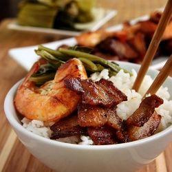 10 Vietnamese Caramelized Pork Belly and Shrimp - Tom Rang Thit