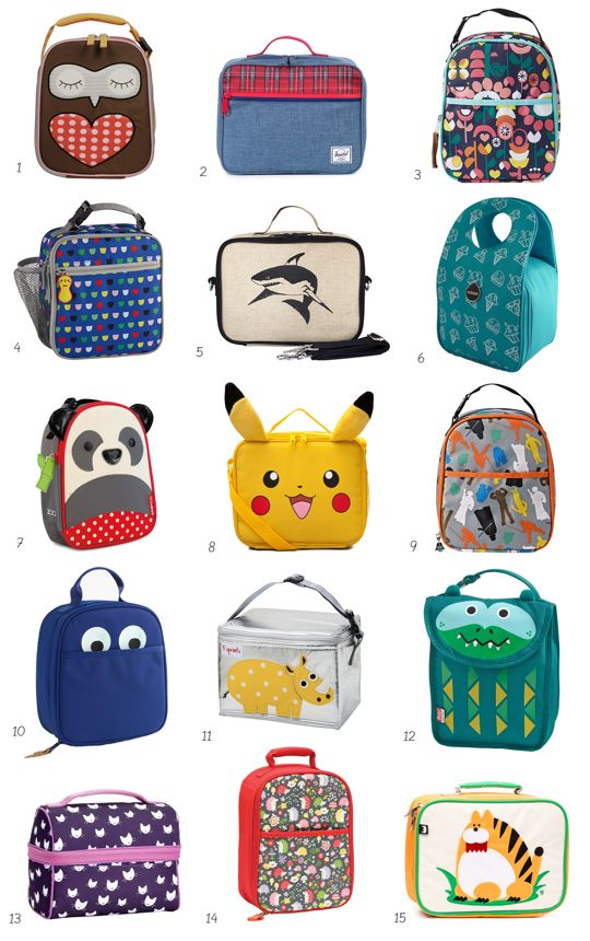 Best (& Cutest!) Kids Lunch Boxes and Lunch Bags | Apartment Therapy