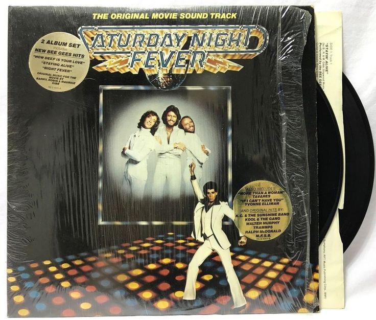 VARIOUS - Saturday Night Fever Soundtrack in-Shrink + Hype Sticker Vinyl #Records