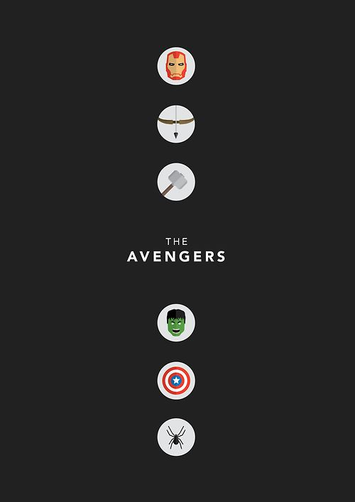 Top 10 minimalist movie posters all things the avengers for Minimalist stuff