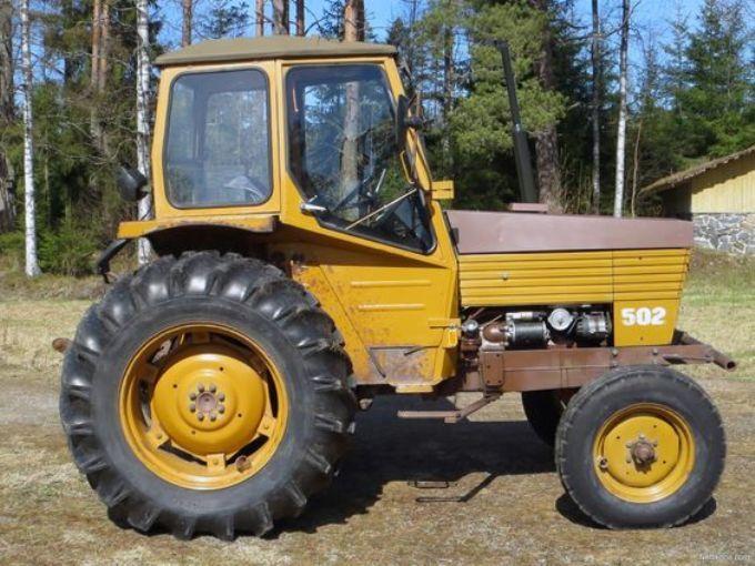 Valmet 502 Traktor Tractors Volvo Vehicles