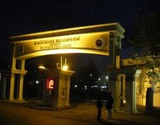 Kağıthane Belediyesi Giriş Kapısı