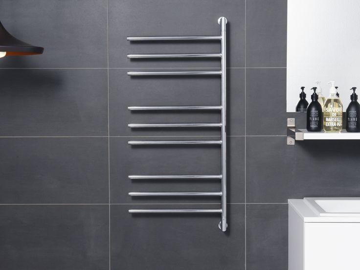 Black Modern Towel Rack