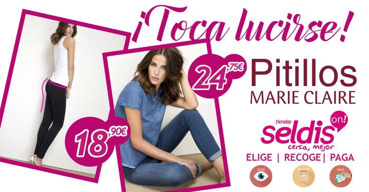 Toca lucirse y tienes toda la moda al mejor precio en TIENDAS SELDIS http://goo.gl/4mbVE4 #luceprimavera