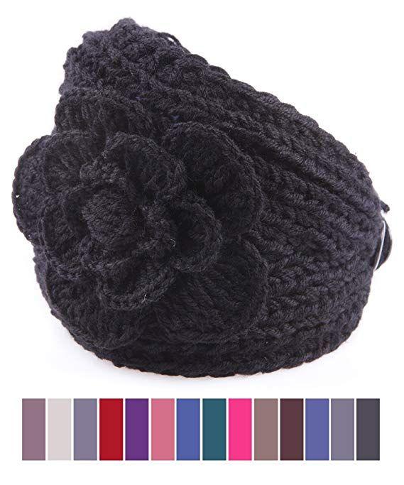 50939b8a53e X Z FAshion women s knit Winter headband ear warmer many colors ...