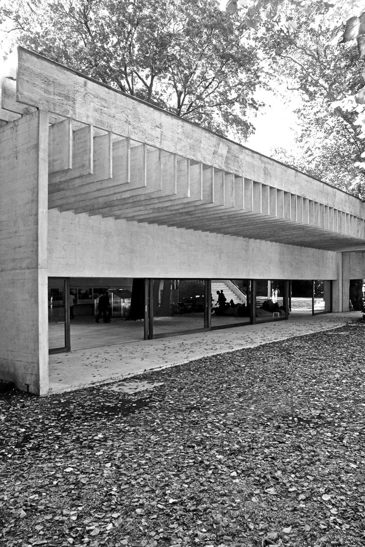 22 best images about sverre fehn on pinterest to be for Pavillon moderne construction