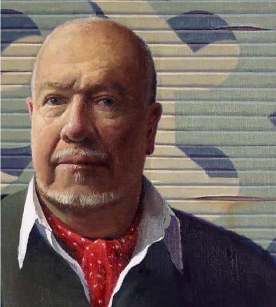 Self-portrait, Jeffrey Smart. Died 2013 aged 91
