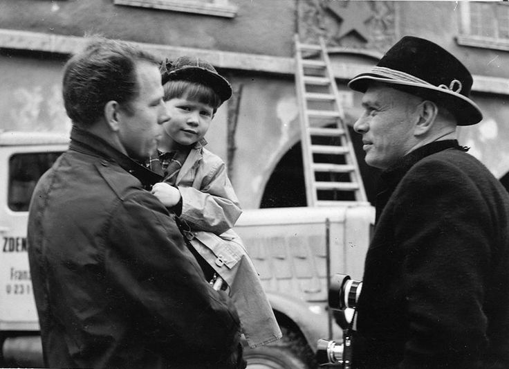 Ron Howard with dad Rance Howard and Yul Brynner