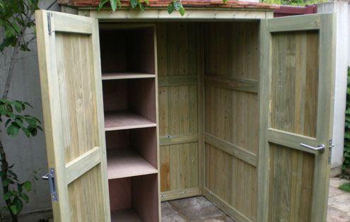 The Garden Trellis Company -Garden Storage Idea