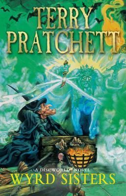 """""""Wyrd sisters"""", by Terry Pratchett - Witches are not by nature gregarious, and they certainly don't have leaders. Granny Weatherwax was the most highly-regarded of the leaders they didn't have. But even she found that meddling in royal politics was a lot more difficult than certain playwrights would have you believe."""