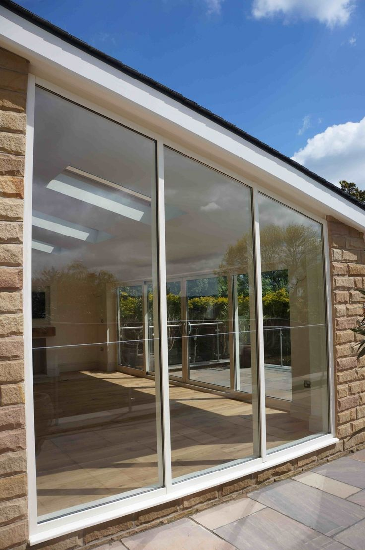 Aluminium Shaped Curtain Wall for Bespoke Conservatory