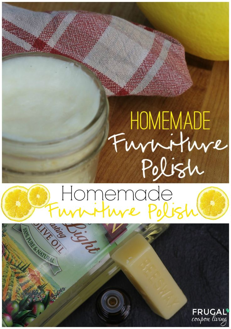 Homemade furniture polish clean ingredients in your home for Homemade furniture polish with essential oils