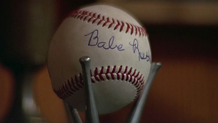 The fake Babe Ruth signed ball. Sandlot.